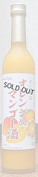 画像1: すてきなオレンジ&マンゴー酒 500ml【麻原酒造】【すてきなシリーズ】 (1)
